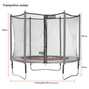 Kangui Jumpi dimensions