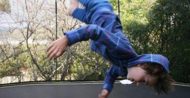 Risques trampoline